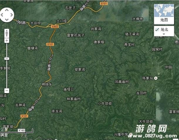 恩阳交通规划图